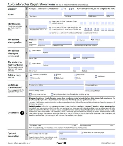 voter registration form voter registration forms in pennsylvania and others