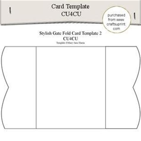 top fold card template 113 best images about card templates on