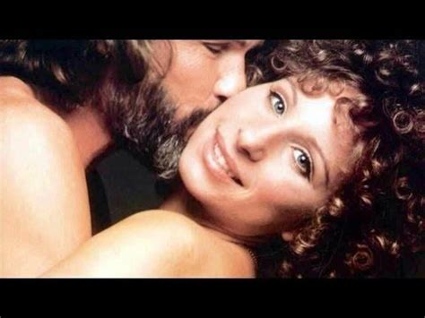 barbra streisand kris kristofferson song barbra streisand quot lost inside of you quot duet with kris