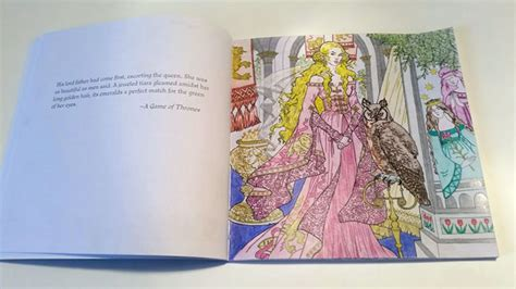 thrones colouring book review the official of thrones colouring book review