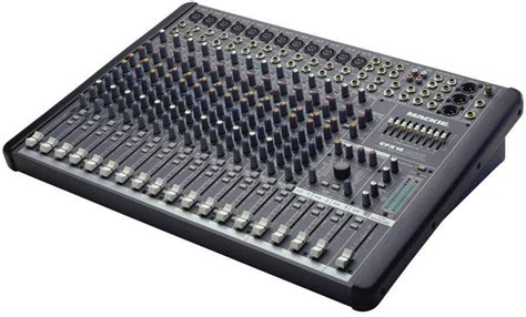 Mixer Audio mackie cfx16 mkii 16 channel mixer with emac effects mcquade musical instruments