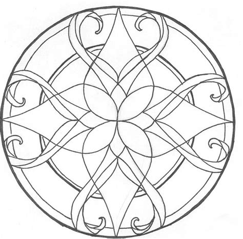 mandalas stained glass coloring book pdf stained glass coloring pages coloring page for