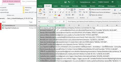 format fichier csv tutoriel mailchimp comment exporter ses contacts de