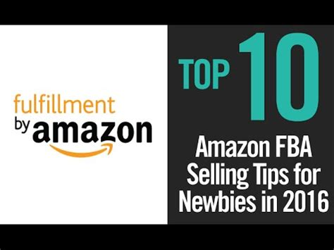 is amazon fba right for you top 10 amazon fba selling tips for rookies newbies in