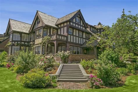 Dining Room Furniture Seattle by Sprawling Seattle Landmark Tudor Mansion Renovated