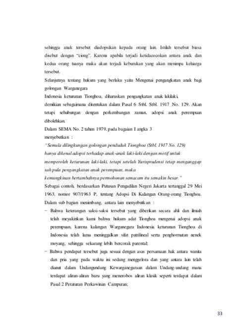 Negara Dan Etnis Tionghoa makalah pkn makalah pendidikan kewarganegaraan hukum pengangkatan an