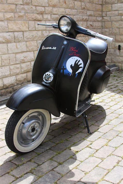 vespa douglas custom painted scooter