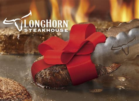 Long Horn Gift Card - choose your card gift cards longhorn steakhouse restaurant