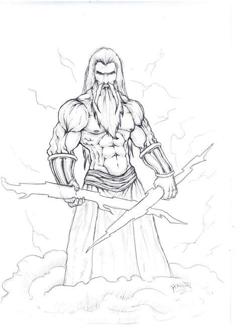imagenes de dios zeus para dibujar mis nuevos dibujos 29 04 2015 arte taringa
