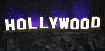 Decorative Wall Signs For The Home Hollywood Sign Town Amp Country Event Rentals