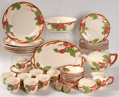 franciscan apple pattern patterns gallery - Apple Dishes