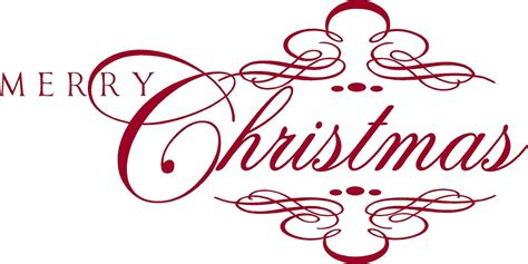 merry christmas holiday vinyl lettering wall words graphics