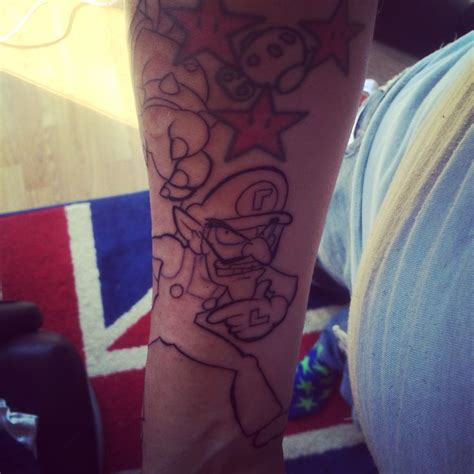 why not to get a tattoo 1000 ideas about mario on mario