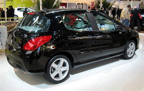 peugeot 2008 black file peugeot 308 5p black rear jpg wikimedia commons