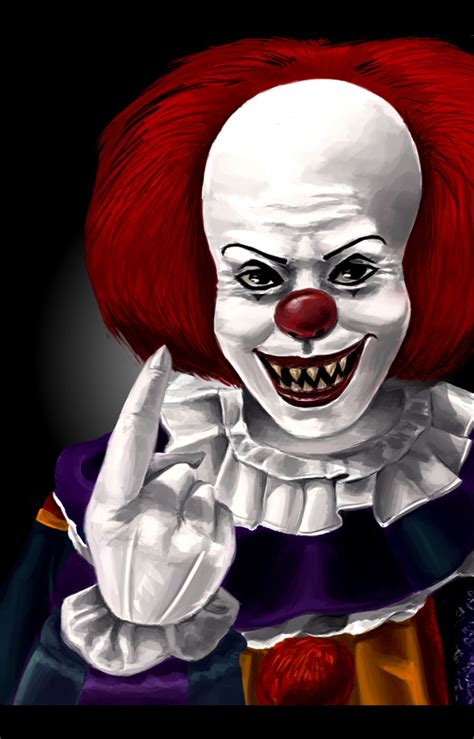 the clown animated pennywise the clown myideasbedroom