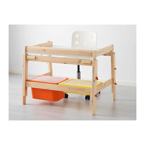 childrens small desk flisat children s desk adjustable ikea