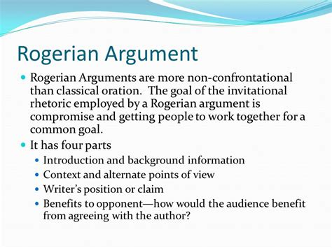 Rogerian Essay by Rogerian Argument Sle Essay 28 Images The Structures Of Various Arguments Ppt Noah