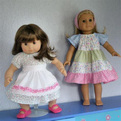 apron pattern american girl doll ivy s apron peasant dress pattern boutique pdf doll