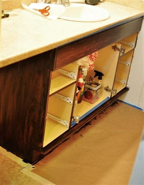 diy gel stain kitchen cabinets how to gel stain cabinets diy home pinterest