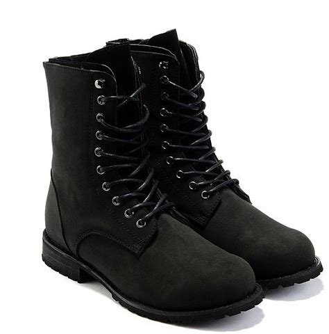 Boots Air Wings On Army Size 39 43 s black tooling boots boots boots eu wholesale free shipping s high black