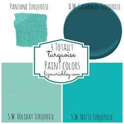 turquoise paint colors decorating with color turquoise