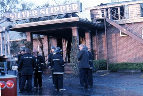 silver slipper tallahassee florida memory view showing tfd firemen at the silver