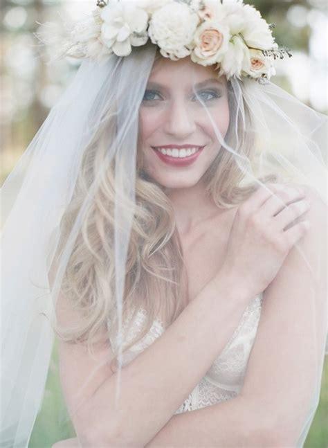 Flower Wedding Veil veil floral crown is it possible