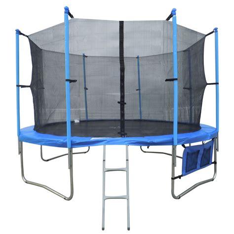 4 5ft 8ft 10ft 12ft 14ft 16ft troline with ladder cover enclosure net ebay