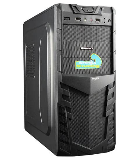 zebronics cabinet without smps zeb 516b buy