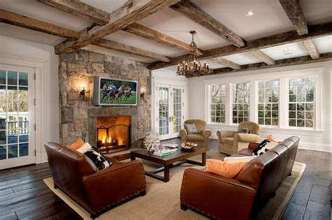 rustic livingroom white rustic living room photos hgtv