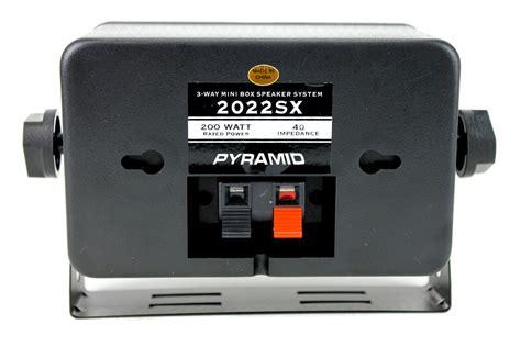 Speaker S11musik Mini Box 4 new pyramid 2022sx 3 25 quot 400w 3 way car audio mini box speakers system inside ebay