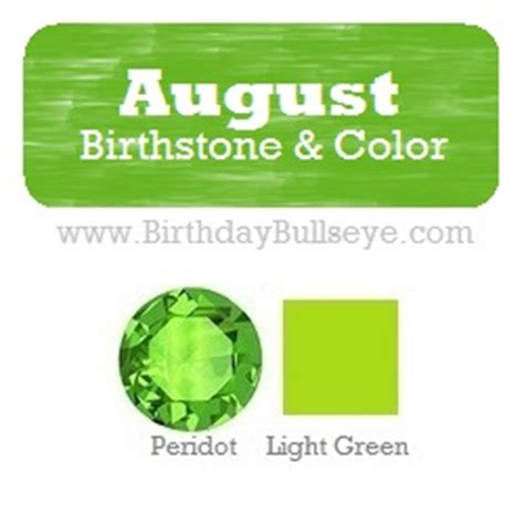 what color is august birthstone august birthstone gift ideas
