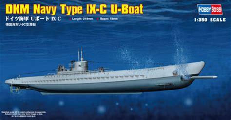 minecraft boat loop german u boot type ix c model do sklejania hobby boss 83508