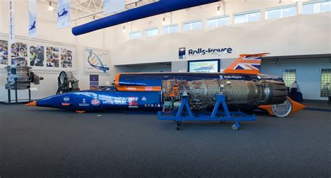 rolls royce aerospace officially backs the bloodhound ssc