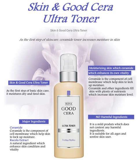 Holika Cera Ultra Toner 200ml box korea holikaholika skin cera ultra