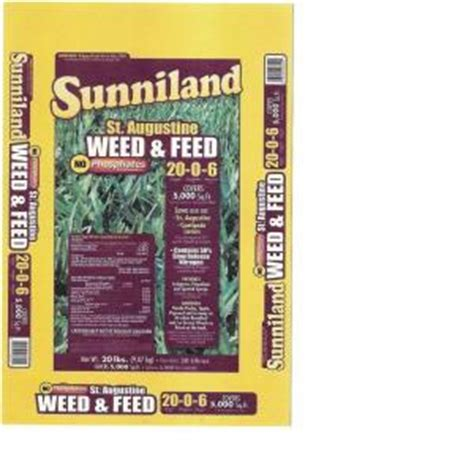 sunniland 20 lb st augustine and feed 128820 the