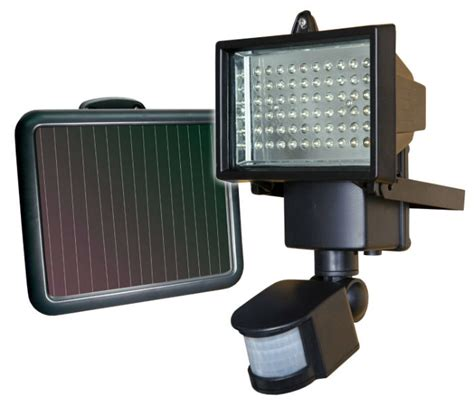 sunforce 82156 60 led solar motion light hj news