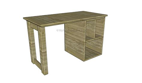 Wooden Computer Desk Plans How To Build A Desk Myoutdoorplans Free Woodworking Plans And Projects Diy Shed Wooden