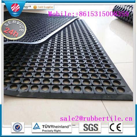 antibacterial floor mat china antibacterial floor mat drainage anti fatigue rubber