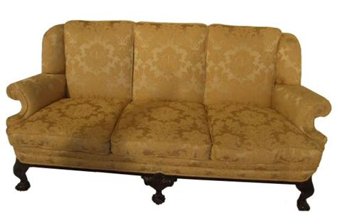 Edwardian Sofa by Edwardian 3 Seater And Claw Settee
