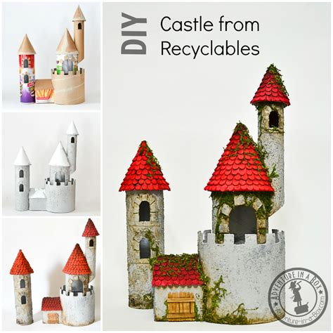 Canon Papercraft Castle Of Snow White Free Paper - diy make a castle from recyclable materials adventure in