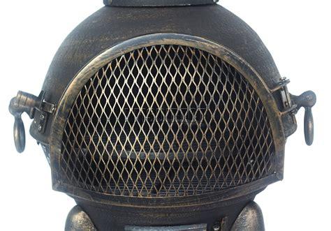 chimenea kaufen foxhunter garden cast iron steel chimenea chiminea chimnea