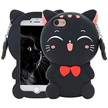 Animal Black For Iphone 4 4s fluffy cat with for iphone 4 4s