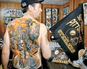 crazy steelers fans