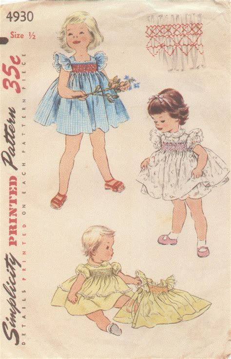 creations by michie vintage baby dress