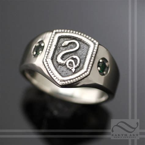 buy a made slytherin house ring harry potter
