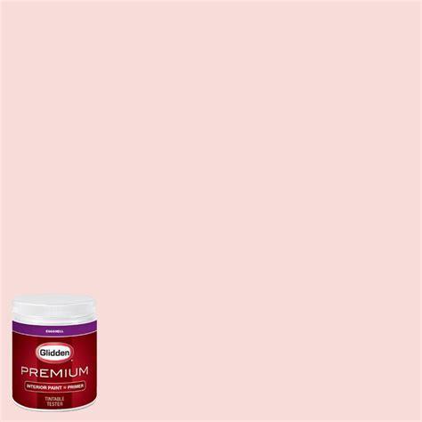 glidden premium 8 oz hdgr55u pink mimosa eggshell interior paint with primer tester hdgr55up