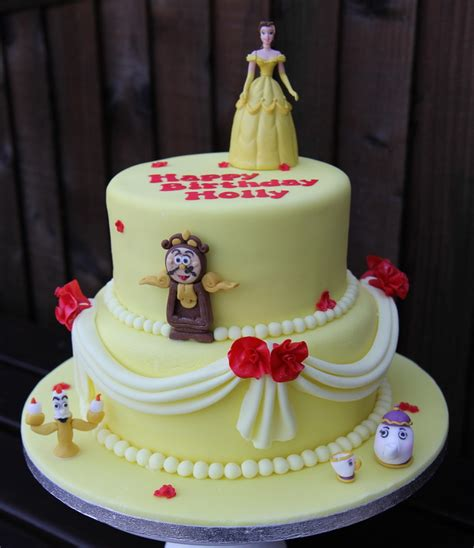Home Sweet Home Decoration by Beauty And The Beast Birthday Cake Personalised Cakes