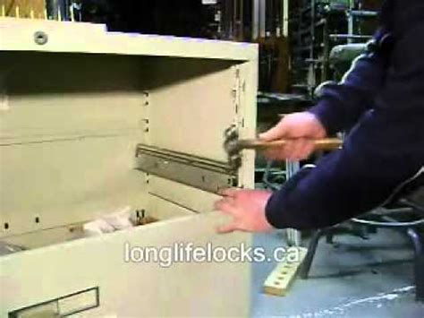 How To Fix A Broken Drawer Track by Repair File Cabinet Track Or Suspension Steelcase