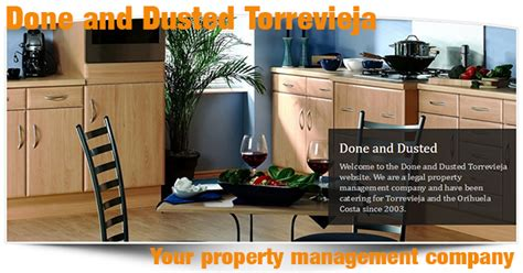 done and dusted cleaners covering cheadle hulme done and dusted torrevieja property management company